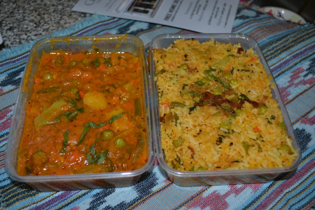 Chicken biryani at Cochin Restaurant