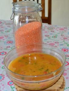 Red dal (lentils)