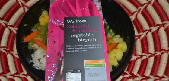 Waitrose veg biryani