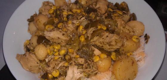 Aunty G chicken biryani