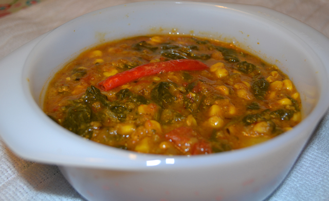 Dal Palak recipe