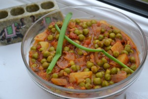 Aloo Mattar Recipe