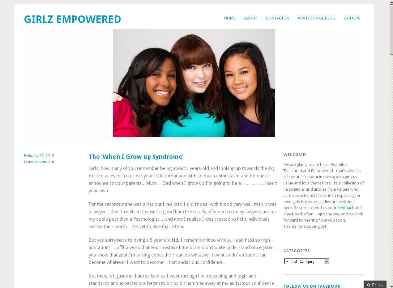 Girlz Empowered