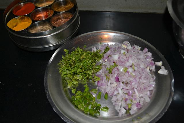 Vimal's chopped onions