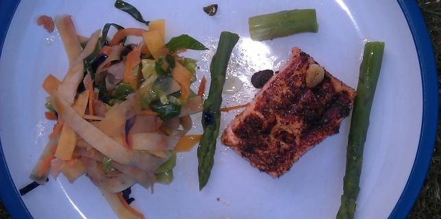 Masala Salmon