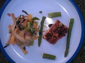 Grilled Masala Salmon